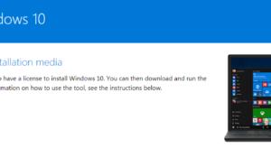 Install Windows 10 1803