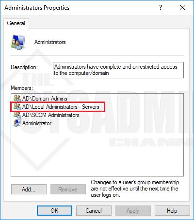 Local Admin Verification