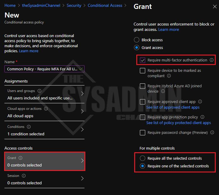 MFA Grant User Access Control-Updated