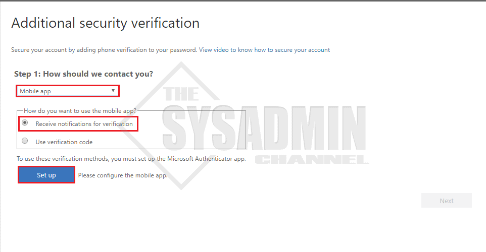User Experience - Additional MFA Setup Info - Deploy MFA Using Azure AD Conditional Access