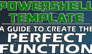 Powershell Template Function
