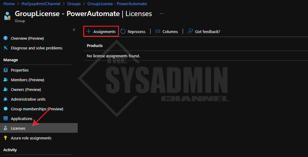 Assign Group Based Licensing in Azure AD Office 365