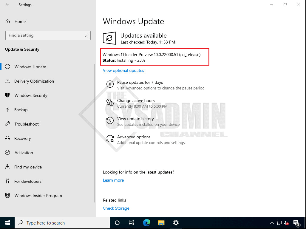 Installing Windows 11 Insider Preview-1